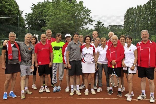 Bei den Tennisfreunden in der Bretagne