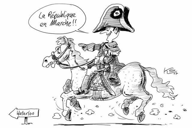 Frankreichs neuer Präsident startet durch.