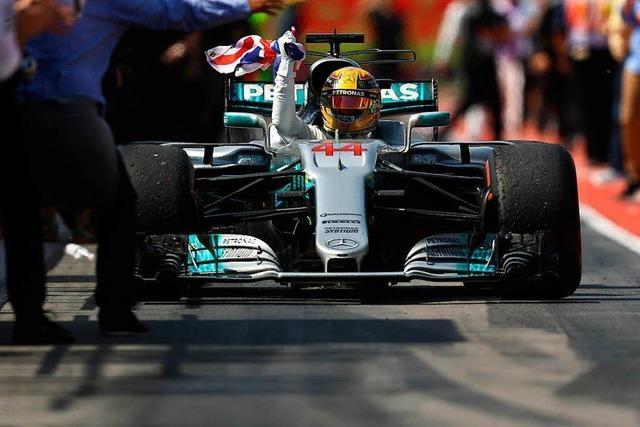 Lewis Hamilton meldet sich im Kampf um WM-Titel zurück