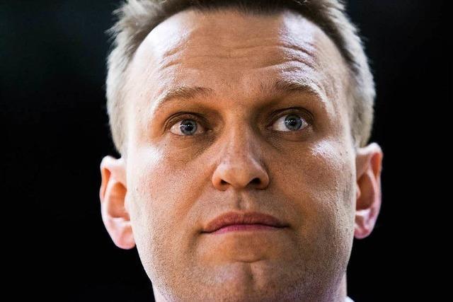 Kreml-Kritiker Nawalny zu 30 Tagen Haft verurteilt
