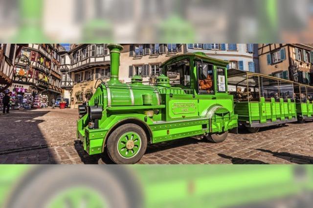 Grün für die Stadtrundfahrt