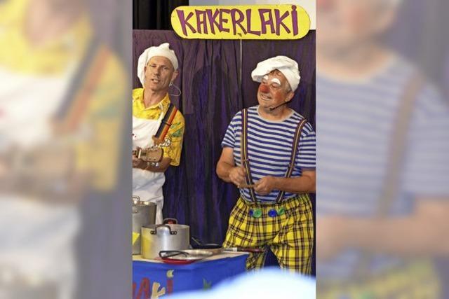 Die Clowns Beppo und Ferdinant feiern Jubiläum
