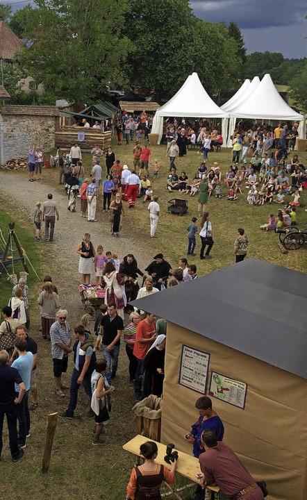 Am 24. und 25. Juni findet der 4. Mittelaltermarkt in Riedern statt.    Foto: Elisabeth Baumeister