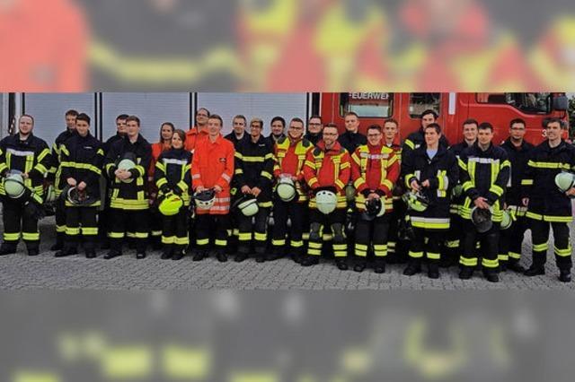 Einmaleins für Feuerwehrleute