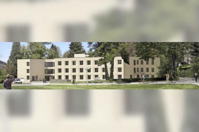 Neubau ersetzt bisheriges Michaelhaus