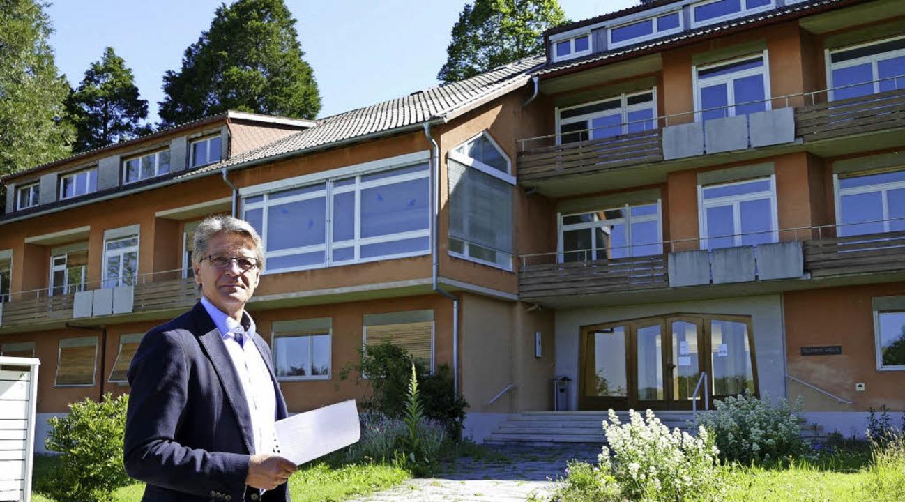 Olaf Meier, Geschäftsführer der Friedr... und durch einen Neubau ersetzt wird.   | Foto: Markus Donner