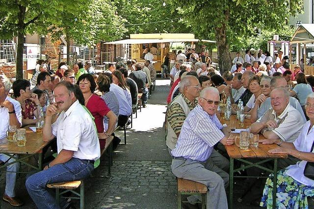 Straßenfest in Schönau