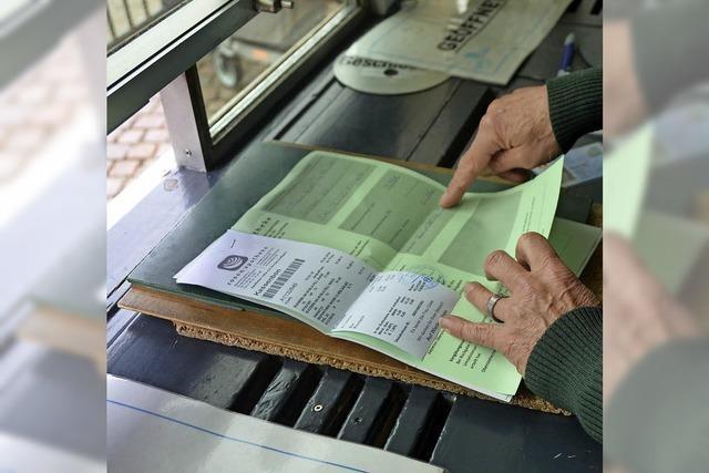 Zoll in Laufenburg will grüne Zettel von Schweizern extra abfertigen, um Staus zu verhindern