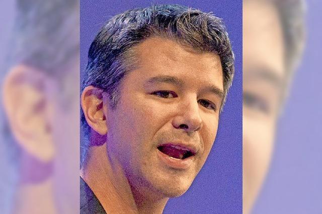 Uber-Chef Travis Kalanick nimmt sich eine Auszeit