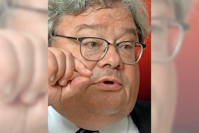 Reinhard Bütikofer über grüne Themen und die Perspektive seiner Partei