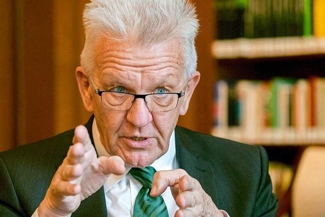 Grünen wollen aus Umfragetief heraus – Kretschmann soll es richten