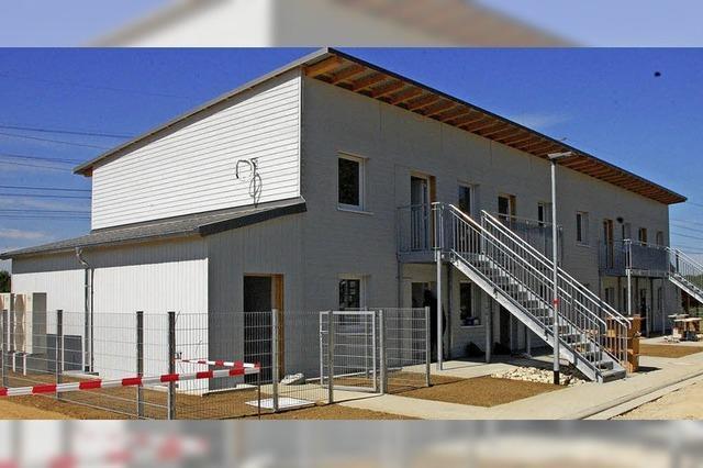 Neubau für Flüchtlinge