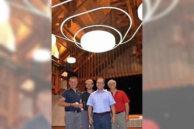 Neues Licht für das Bürgerhaus