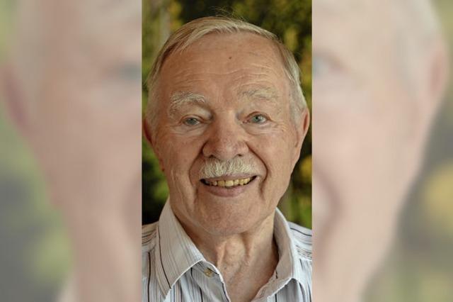 Senior des Endinger Weinguts L. Bastian: Bernhard Neymeyer feierte seinen 85. Geburtstag