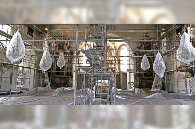 Pfarrkirche St. Märgen: Renovierung läuft nach Plan
