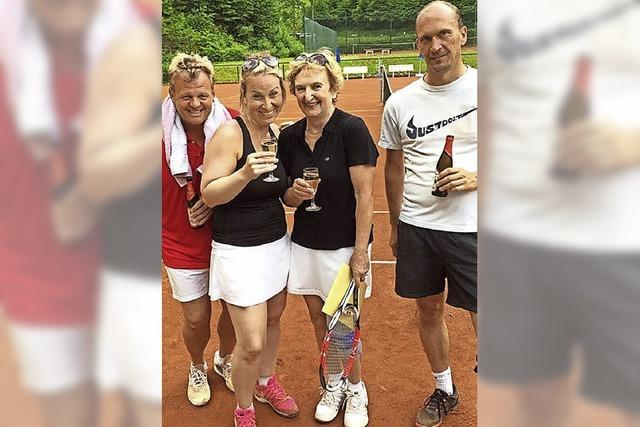 Auch kleine Vereine spielen Top-Tennis