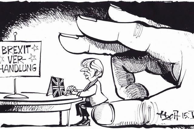 Theresa Mays Position bei den Brexit-Verhandlungen könnte komfortabler sein.