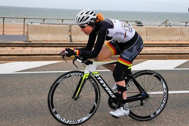 Paracyclistin Raphaela Eggert: Auf dem Weg zur WM nach Südafrika