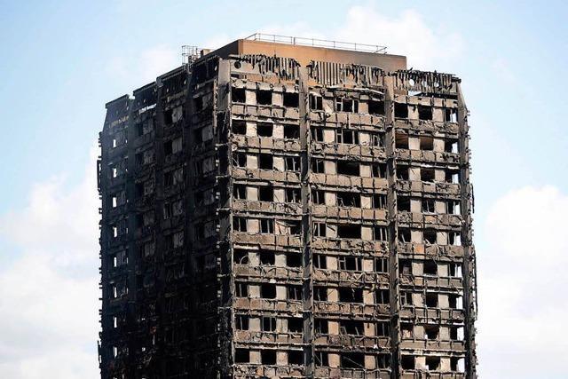 Londoner Brandkatastrophe: Polizei rechnet mit vielen Toten