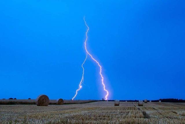 Unwetter im Südwesten verlaufen glimpflich