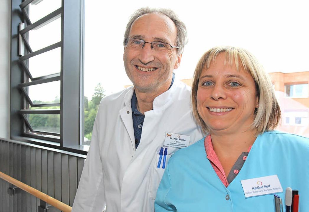 Peter Fichtner (Oberarzt Unfallchirurg...if  freuen sich auf kleine Patienten.   | Foto: Dagmar Barber