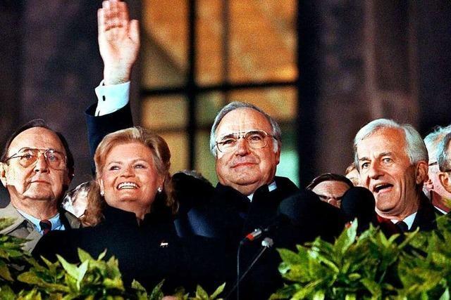 Helmut Kohl: Vom Fremdkörper in Bonn zum Kanzler der Einheit