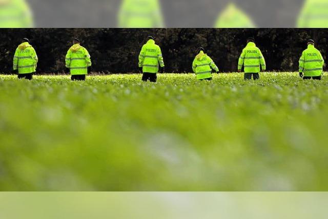 So sucht die Polizei nach Vermissten