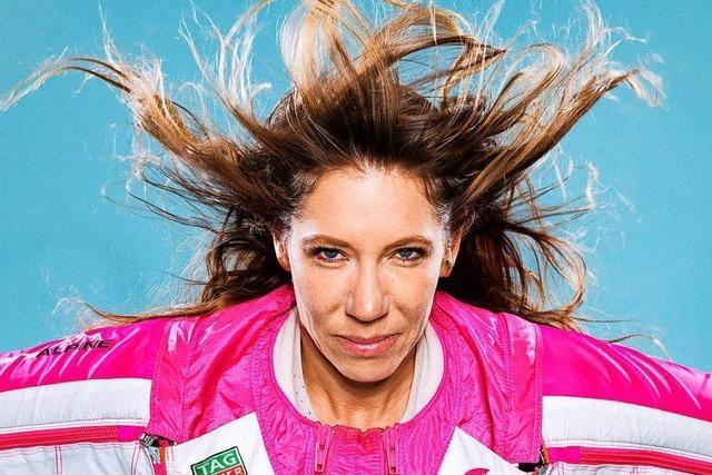 Schweizerin sprang als erster Mensch vom Matterhorn