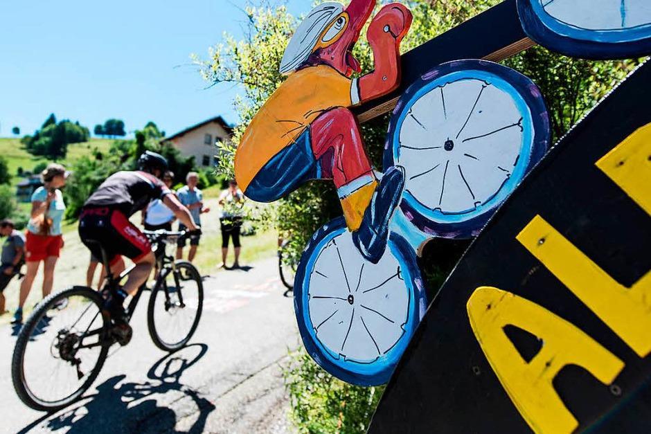 Rund 20000 Zuschauer sahen dabei zu, wie die Radler durchs Dreisamtal brausten. (Foto: Patrick Seeger)