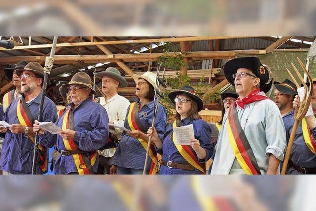Gelungene Revolution in Dossenbach