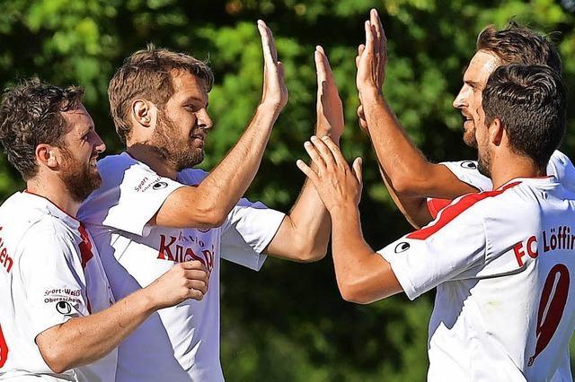 FC Löffingen II legt ein 2:0 vor