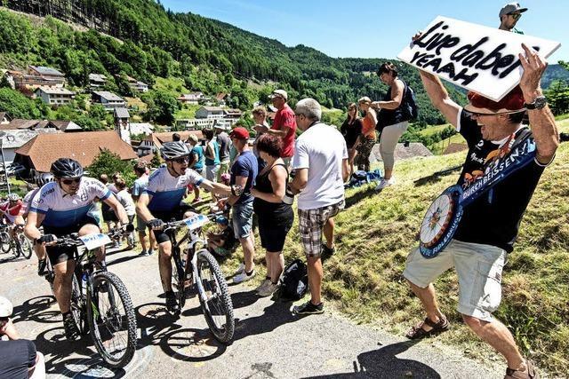 Wilde Bike-Party in
