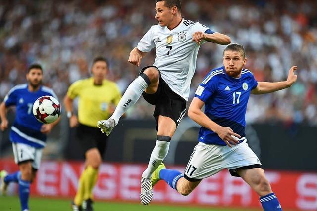 Beim Confed-Cup sollen sich im DFB-Team neue Hierarchien bilden