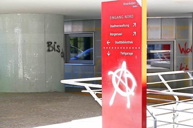 10.000 Euro Schaden durch Graffitis in Rheinfelden
