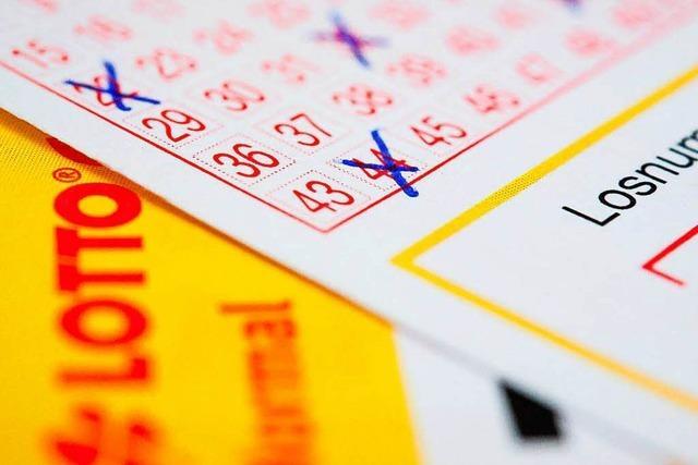 Freiburger gewinnt 651.000 Euro mit sechs Richtigen im Lotto