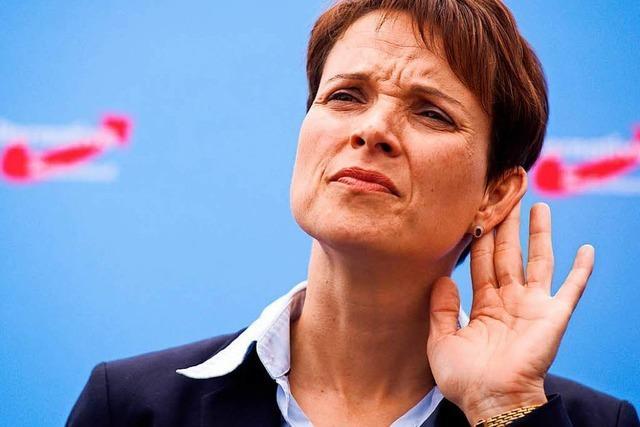 Ermittler wollen Frauke Petrys Immunität aufheben lassen