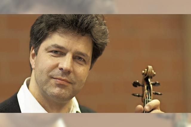 Violine und Harfe in Kirchzarten