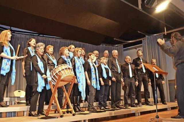 Da Chor Rötenbach in Bonndorf und Löffingen