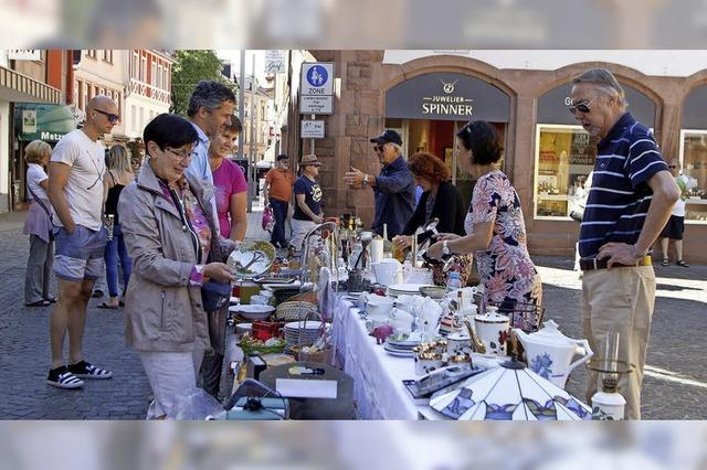 Flohmarkt auf dem Sonnenplatz