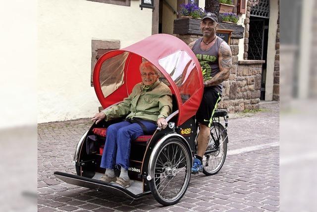 Die Senioren-Rikscha