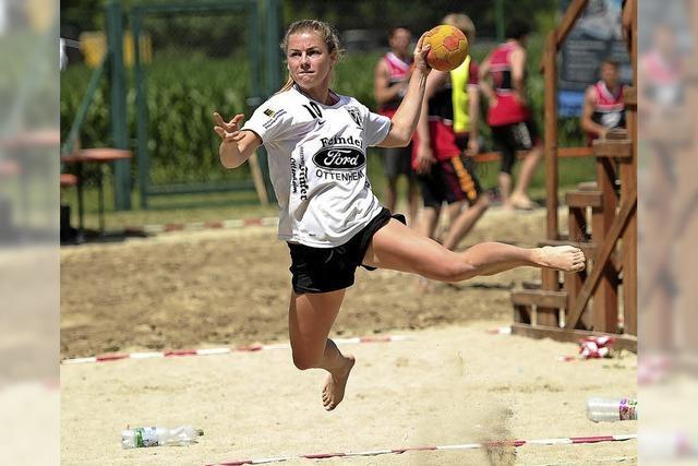 Sport und Spaß im Sandkasten