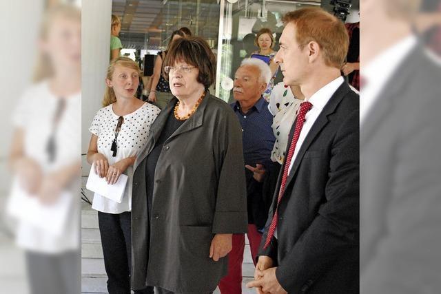Staatsrätin Erler lobt starke Bürgerbeteiligung in Lörrach