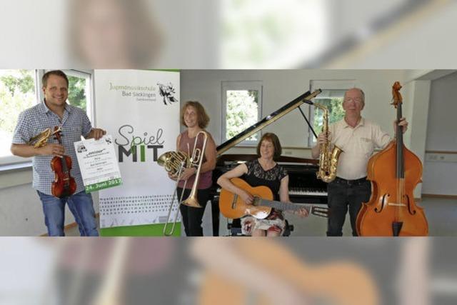 Jugendmusikschule bietet Mitmachorchester vor Ort