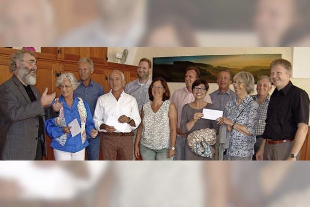 Viele profitieren vom Erlös des Dorffestes in St. Peter