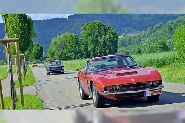 Sportwagen-Ikonen in Kirchzarten