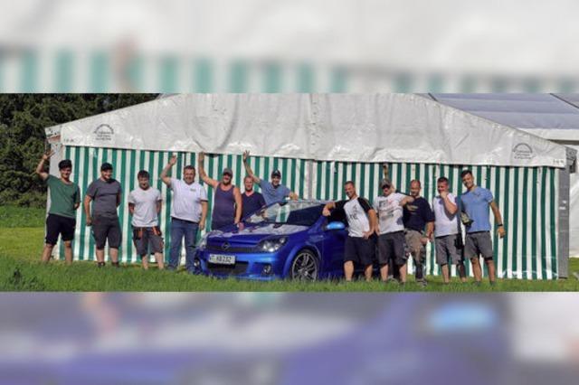 Opel Club feiert Zehnjähriges mit einem dreitägigen Fest