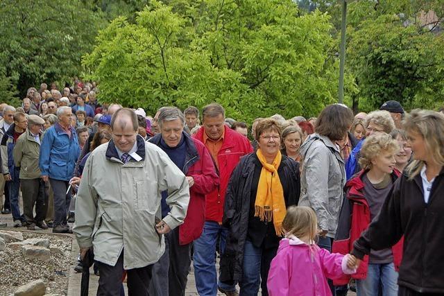 3000 Schritte durch Rheinfelden: Eine erfolgreiche Aktion
