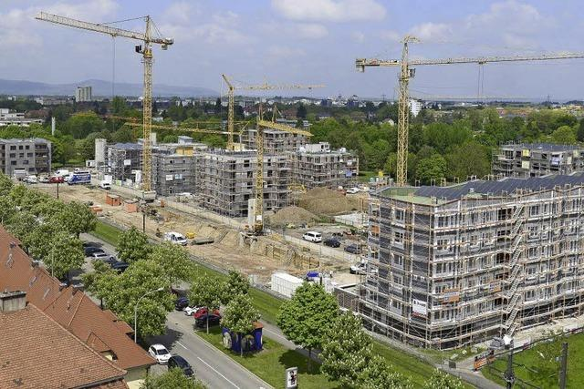 604 neue Wohnungen