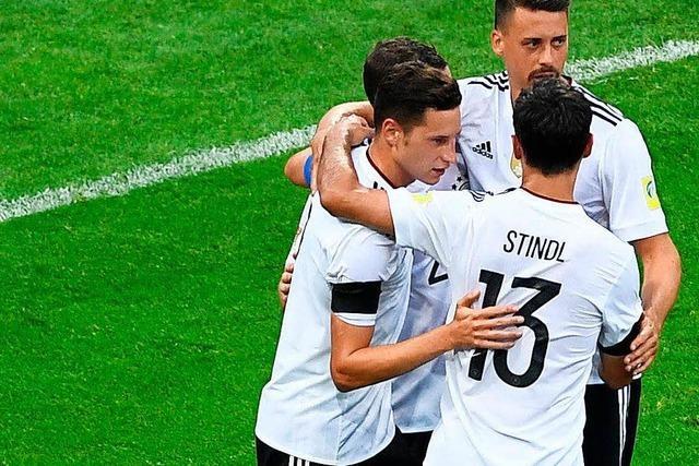Auftaktsieg: Deutschland bezwingt Australien mit 3:2