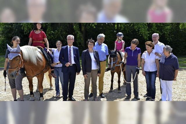 Das Pferd ist der Therapeut